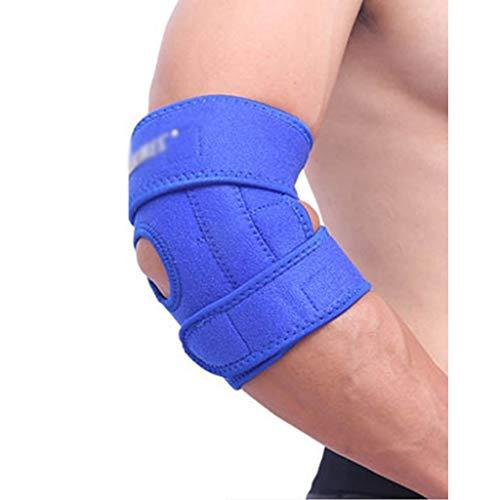 Ayuda del codo de tenis de soporte ajustable codo es perfecta for el codo de un esguince de codo tendinitis artritis baloncesto de béisbol del golfista proporciona apoyo y alivio del dolor Talla única