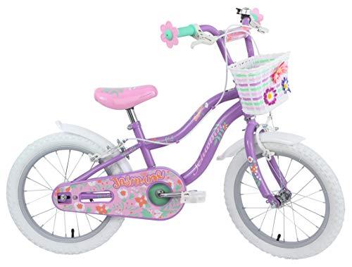 Schwinn Girls Jasmine Kids Bike, Purple, 16 inch (Age 4+)