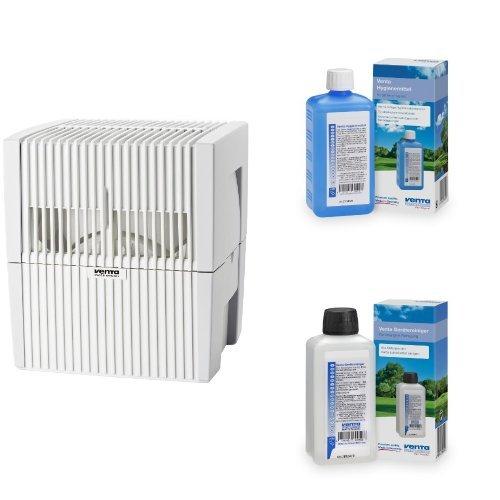 Venta 7025501 Luftwäscher LW 25 weiss / grau + Venta Hygienemittel 6331000 + Venta 6328000 Reiniger