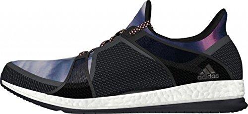 adidas Pure Boost X TR W, Zapatillas de Running Mujer, Negro/Gris/Rojo (Negbas/Griosc/Brisol), 36 2/3