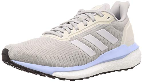 adidas Performance Solar Drive 19 - Zapatillas de Correr para Mujer, Color Gris/Azul, 5.5 UK - 38 2/3 EU - 7 US
