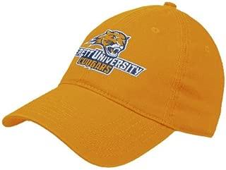 Averett Gold Twill Unstructured Low Profile Hat 'Averett University Cougars'