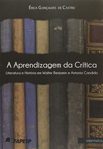 A Aprendizagem da Crítica. Literatura e História em Walter Benjamin e Antonio Candido