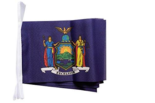 Digni Guirlande 15 Drapeaux USA US New York - 5,9 m Sticker Gratuit