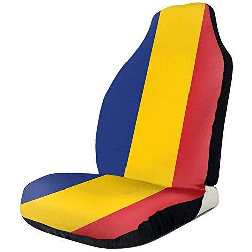 Fall Ing rumeni Front Seat stoelhoezen stoelhoezen stoelhoezen auto vlag