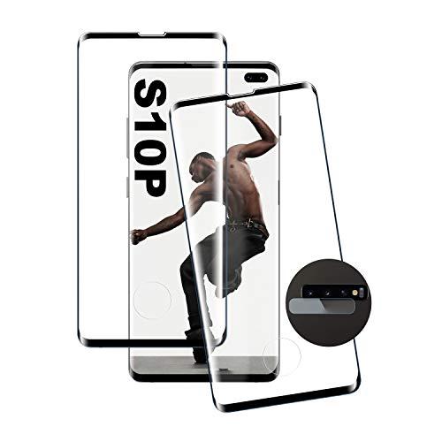 Pellicola proteggi schermo per Galaxy S10 Plus, in vetro temperato 3D di alta qualità, durezza 9H, compatibile con le custodie, per Samsung Galaxy S10 Plus