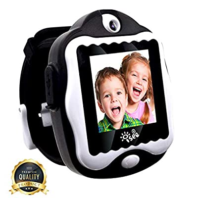 Durable Smart Watch for Kids, Digital Video Games Built in Selfie-Camera Watches, Electronics Educational Toys Kids Camera, Gadgets Games for Kids Ages 4-8 Girls Boys from I-SEE