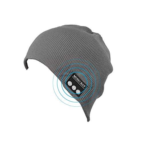 Bluetooth muts met geïntegreerde hoofdtelefoons, draadloos, oplaadbaar, goede handsfree, ideaal als kerstcadeau