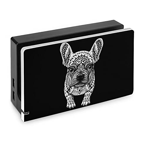 Frenchie French Bulldog Custom Base Protection Shell for Nintendo Switch for Teens Printed Cute