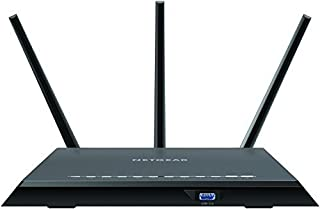 Netgear R7000-100NAS Nighthawk R7000 - Wireless router - 4-port switch - GigE - 802.11a/b/g/n/ac - Dual Band