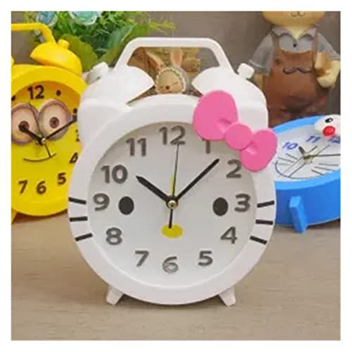 HarMonn Despertador Dibujos Animados Reloj Despertador Oso Gato Moda Temporal de Alarma Reloj de Cuarzo Escuela Estudiante Hora Hombres Mujeres niños Regalos Infantiles Temporizador de Inicio
