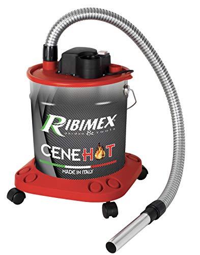 Ribimex Aspiracenere elettrico maggior protezione ceneri calde  CENEHOT  950 W, 18 L