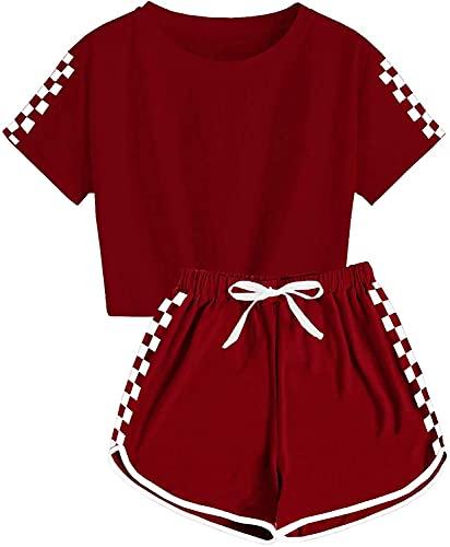 pigiama 9 anni Ybenlover - Set da 2 pezzi per bambini e bambine