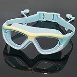 WUBBHIN Gafas de natación Gafas de natación Silicona Anti-Niebla UV...