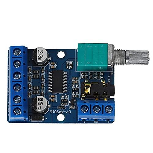 Placa de amplificador de potencia, módulo amplificador estéreo 30Wx2 de alta potencia para entusiastas del amplificador de bricolaje