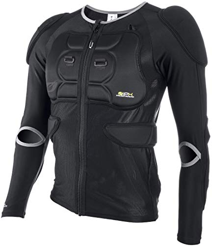 O\'NEAL | Protektoren-Jacke | Kinder | Motocross Enduro Motorrad | 4-Wege-Stretch-Mesh/Lycra, mit Polyurethan-Schaum, Polsterung aus Bioschaumstoff | BP Protektor Youth Jacket | Schwarz | Größe M
