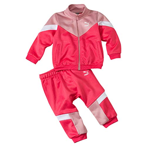 PUMA Kinder Minicats MCS Jogger Trainingsanzug, Bridal Rose, 98