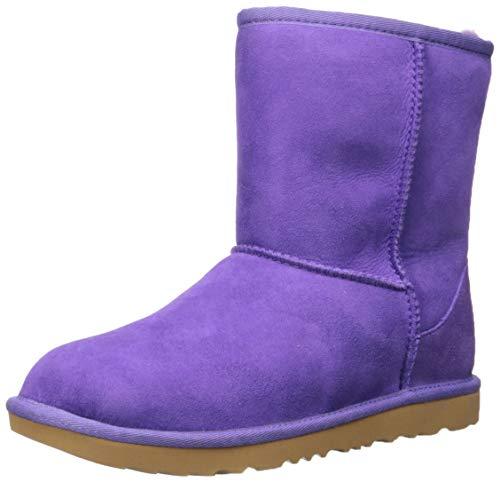 UGG Kids' Classic II Boot, Violet Bloom, 6 M US Big Kid