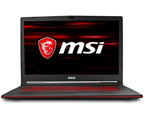 MSI GL73 8RD-031 Full HD Performance Gaming Laptop i7-8750H (6 cores) GTX 1050Ti 4G, 16GB 128GB + 1TB, 17.3'