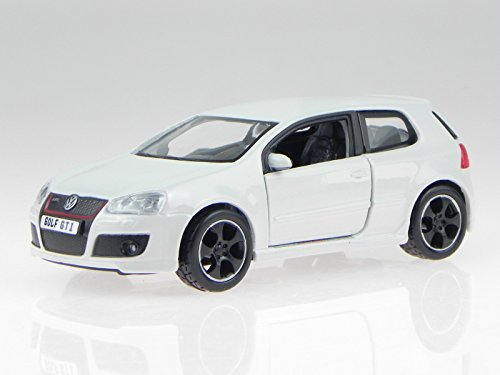 VW Golf 5 GTI Edition 30 weiss Modellauto 43005 Bburago 1:32