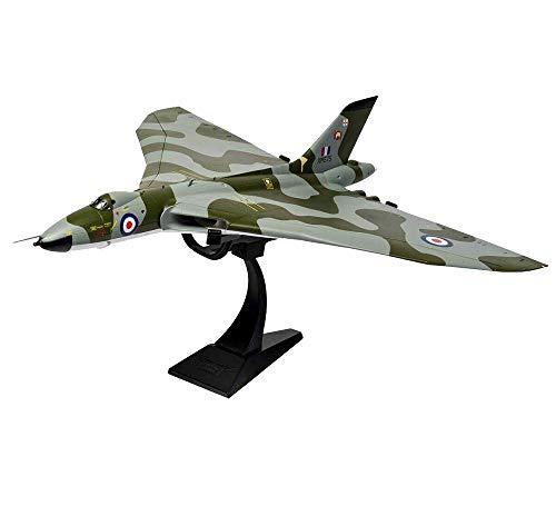 X-Toy Modelo De Combate Militar, 1/72 Escala Británica Avro Vulcan Bombardero De Aleación Modelo, Coleccionables para Adultos Y Regalos, 16.1Inch X 16.5Inch