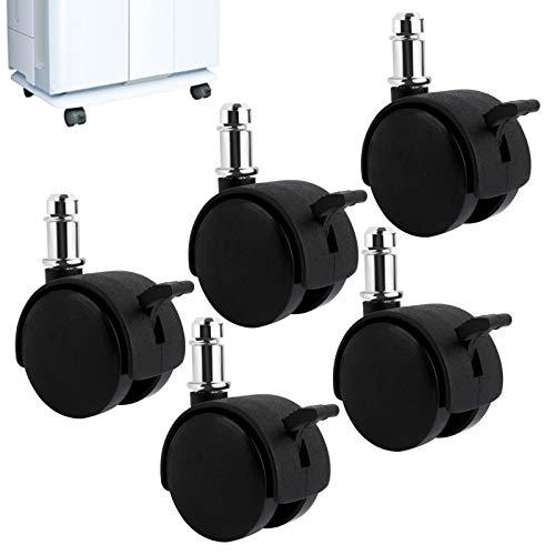 KEEPOW ダイキン空気清浄機専用互換キャスター KKS029A4 5個入り TCK70P/TCK55P/ACK70P/ACK55P/MCK70P/MCK55P 対応