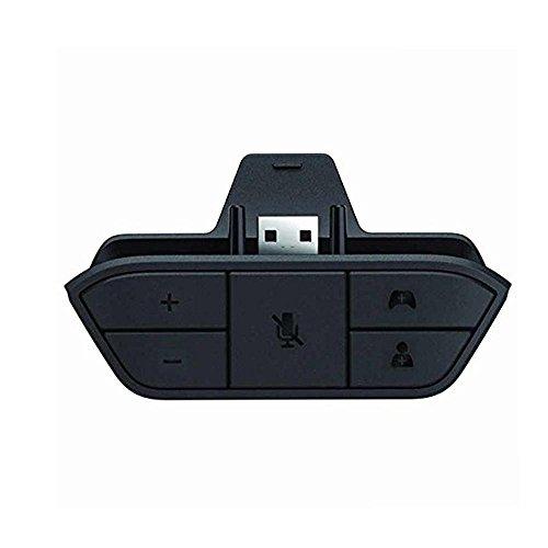 KOBWA Xbox One Stereo Headset Adattatore per Cuffie Convertitore per Game Controller - Universal Audio Chat Mic Adattatore per Cuffie Supporto Qualsiasi Versione del Controller Host