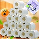 トイレットペーパー ソフト 肌に優しい 家庭用業務用 4層 (20個)