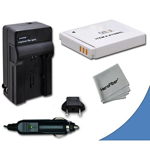 High Capacity Replacement Canon NB-6L / NB-6LH Battery with AC/DC Quick Charger Kit for Canon PowerShot SX170 is Digital Camera