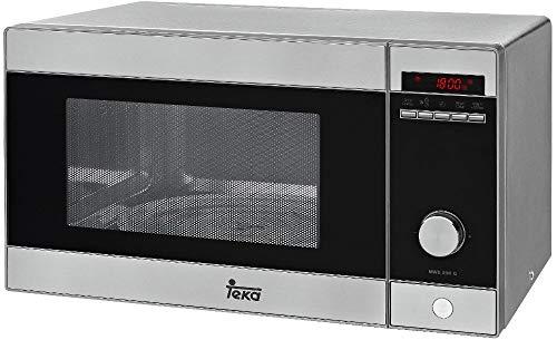 Teka MWE 230 G Microondas con Grill, 1250 W, Acero