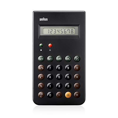Braun BNE001BK Calcolatrice tascabile, Nero