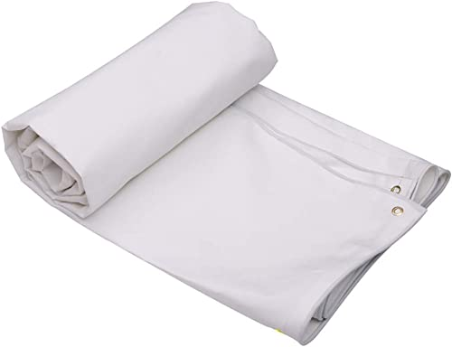 53-FENGLINZEKANG Tente extérieure bache imperméable Double Face Blanche prougeège Votre Tente (Couleur   A, Taille   4x3m)