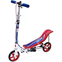 SpaceScooter Ride On Push Board Teeter Totter Kids Scooter with Brake