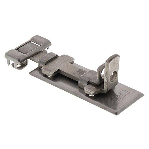 Burg-Wächter veiligheidsvoorziening voor hangslot, voor vlakke deuren, pantsergrendels roestvrij staal R 80 Ni SB