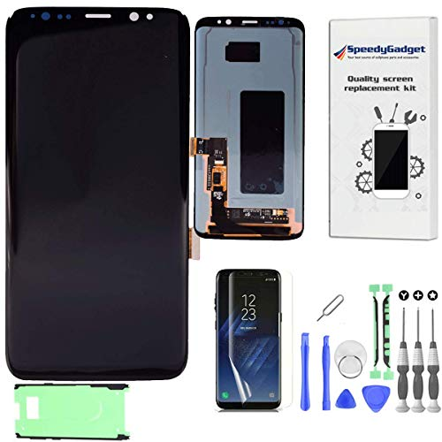 Amoled LCD Digitizer Screen Touch Assembly Replacement LCD Display for Samsung Galaxy S8 by SpeedyGadget