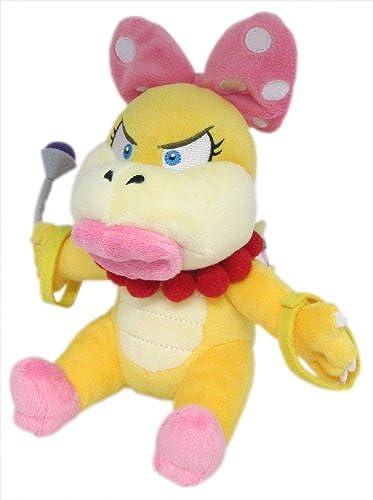 Sanei Super Mario en Peluche Série Wendy O. Koopa poupée en Peluche, 17,8cm