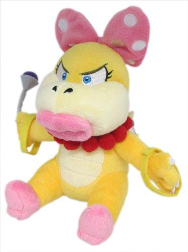 Sanei Super Mario Plush Series Wendy O. Koopa Plush Doll, 7'
