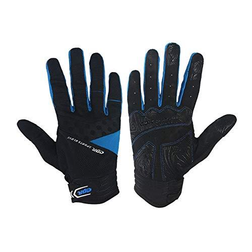 Vollfinger-Trainings-Handschuhe Gym Übung Half Finger Fitness-Handschuhe Heavy Weight Lifting Leder Palm Schutz Strong Grip Padded Qualitätsbreathable Komfort Handschuhe (Männer und Frauen)
