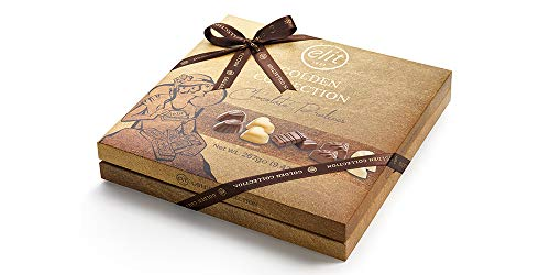 Elit Golden Collection Schokoladenpralinen mit Geschenktasche 267g