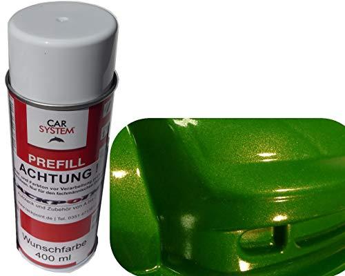 Lackpoint Spraydose 400ml 1K Autolack Mamba Grün Metallic Glanz Kein Klarlack Trend Tuning