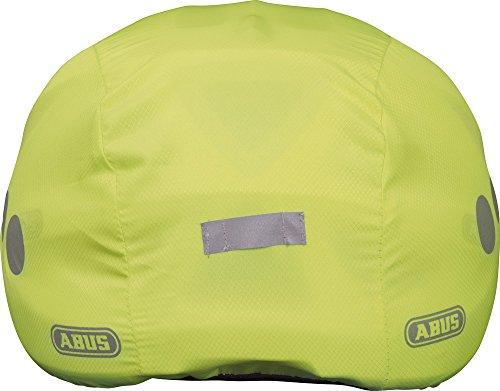 Abus Unisex Regenkappe für Helm, gelb, Universal - 3