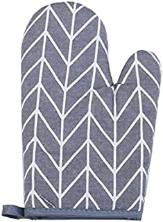 Comfortable Polyester Anti-scalding Insulation High-Temperature Oven Gloves for Pot Holders, Kitchen, Cooking, Baking