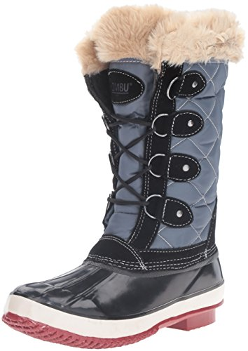 Khombu Women's Andie Snow Boot, Black, 6 M US