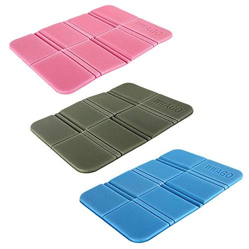 DMFSHI Outdoor Foldable Seat Mat, 3 PCS Portable Waterproof Seat Pad, Outdoor Foldable Cushion For Picnic Park Hiking, XPE Foldable Seat Mat
