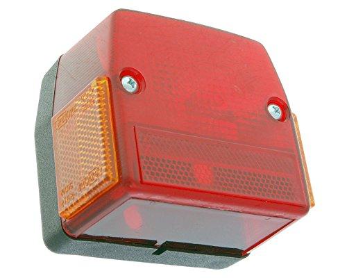 Rücklicht groß für Maxi 50cc, Automatico Aleta Grande, pequena, MOFA