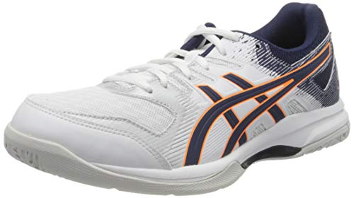 ASICS Mens 1071A030-102_43,5 Volleyball Shoes, White, 43.5 EU