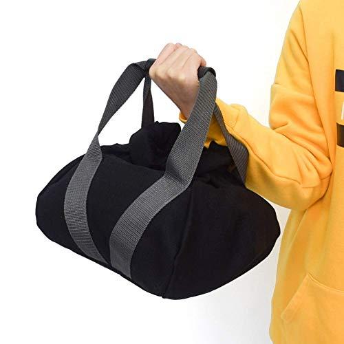 NA Yehapp 5-10KG Adjustable Kettlebell Weights Sandbag, Soft Fitness Power Sand Bag, Portable Kettlebell,Home Workout Sandbag Training Tool