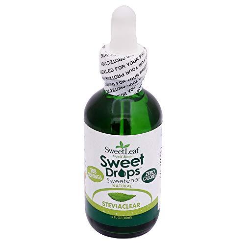 Sweet Leaf, Endulzante Natural de Stevia liquido, 60 mililitros