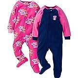Gerber Baby Girls' 2-Pack Blanket Sleeper, Pink Koala, 18 Months