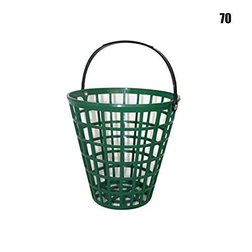 Happymore Golfball-Aufbewahrungseimer, Golfball-Behälter Übungsbehälter mit Griff, Ballhalter inklusive Stadion-Zubehör, nicht null, Wie abgebildet, 75